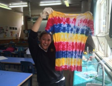 Year 12 Chemistry Tie Dyeing