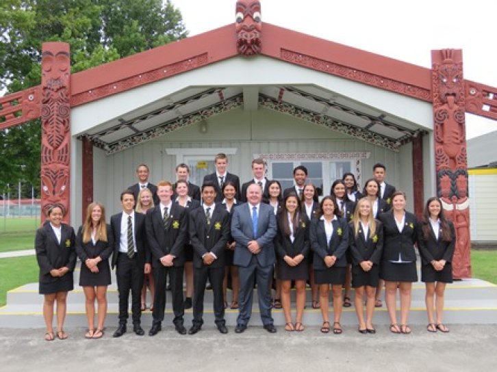 Prefect Announcement Assembly 2016